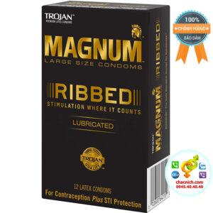 Bao Cao Su Trojan Magnum XL Large Size ribber