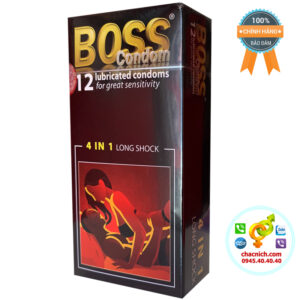 Bao Cao Su BOSS 4 in 1