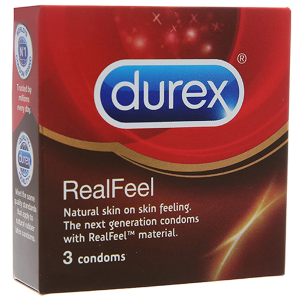 bao cao su Durex RealFeel 56mm