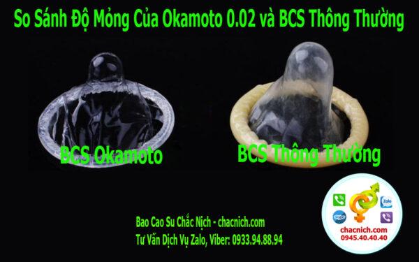 Bao Cao Su Okamoto 0.02 Hydro