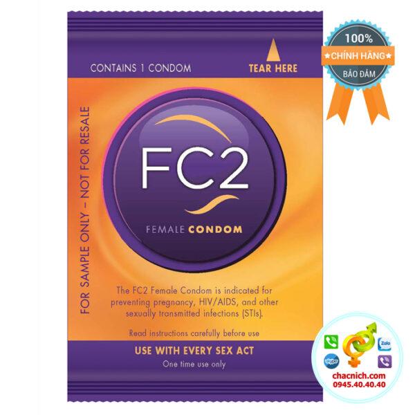 Bao Cao Su Nữ FC2 Female Condom