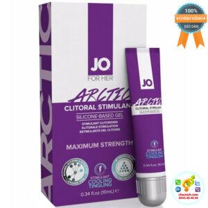 gel tăng khoái cảm nữ System JO Artic Chill Clitoral Stimulant
