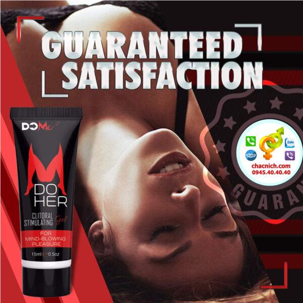 gel bôi Do Her Clitoral Stimulation Gel là loại gel cao cấp giúp tăng hưng phấn cho nữ