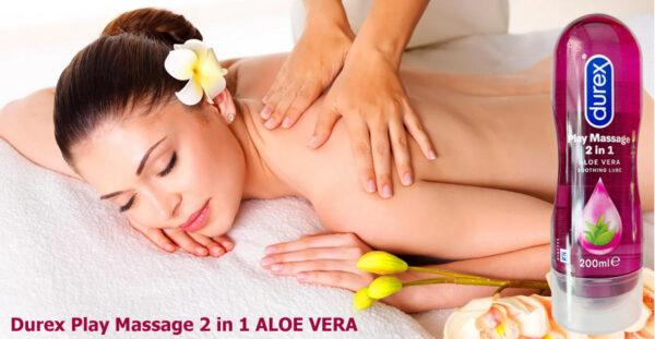 Gel Bôi Trơn Massage Durex Play Massage 2 in 1