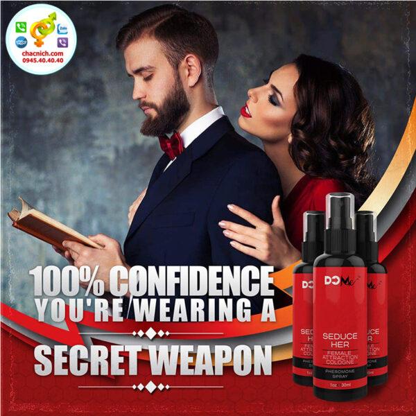 Nước hoa kích dục nữ Do Me Seduce Her ( Chai 30ml ) sản phẩm nước hoa chính hãng