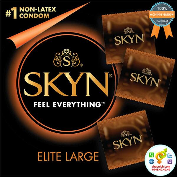 bao cao su non latex LifeStyles Skyn Elite Large Condoms